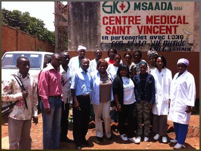 St Vincent Hospital Bukavu