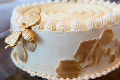 Humming Bird cake from Lee  and Marie's Cakery